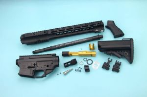 EMG SAI Gas Blow BackKit For Tokyo Marui M4 MWS GBBR (Long) - Black (by G&P + Gunsmodify)